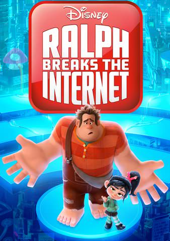 Ralph Breaks The Internet Google Play (Redeems at Google Play Transfers to VUDU & iTunes via Movies Anywhere) (Flsh Sale)