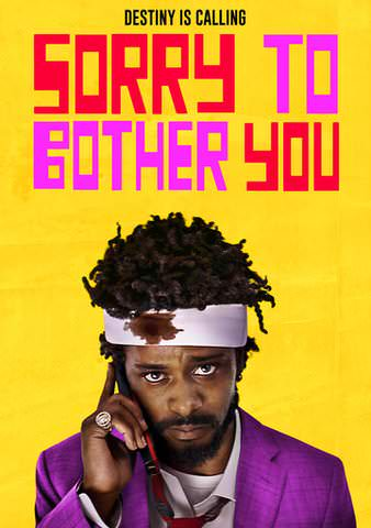 Sorry To Bother You HDX VUDU or HD iTunes