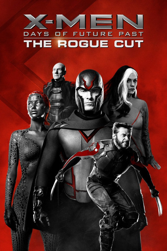 X-Men Days Of Future Past: The Rogue Cut HDX UV or HD iTunes - Digital Movies