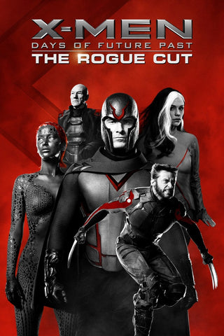 X-Men Days Of Future Past: The Rogue Cut HDX UV or HD iTunes