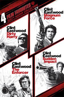 4 Film Favorites: Dirty Harry Collection SD Vudu - Digital Movies