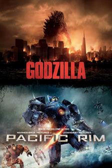 Godzilla & Pacific Rim SD UV