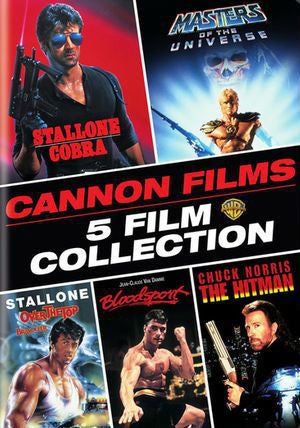 Cannon Films: 5 Film Collection SD/Vudu - Digital Movies