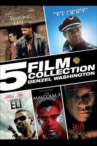 5 Film Collection: Denzel Washington SD UV/Vudu - Digital Movies