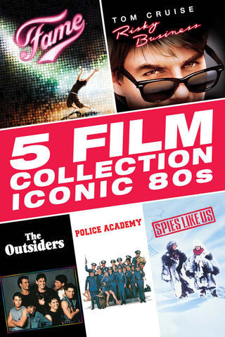 5 Film Collection: Iconic 80s SD UV