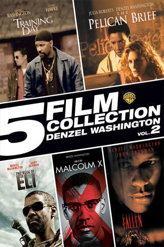 5 Film Collection: Denzel Washington Vol 2 SD VUDU or iTunes via MA