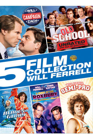5 FILM COLLECTION: WILL FERRELL SD Vudu