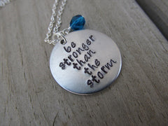Hand-Stamped Necklaces