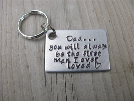 Dad Keychain- Gift for Dad