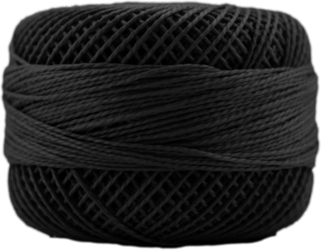 Presencia Finca Perle Cotton #8 - Black 0007