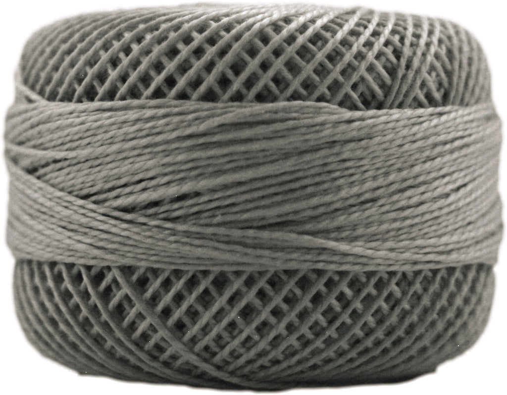 Presencia Finca Perle Cotton #8 - Dark Pewter 8779