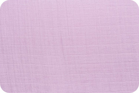 Shannon Fabrics Embrace Double Gauze - Lilac Solid