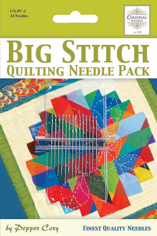 Pepper Cory Big Stitch Needle Pack