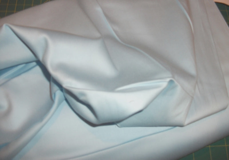"Powder Blue Ultra Sateen 44""wide"