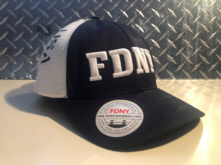Limited Edition FDNY Signature Fire Hose Hat - Reheroed