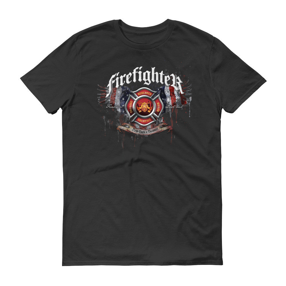 Reheroed Firefighter Tee | New York's Bravest