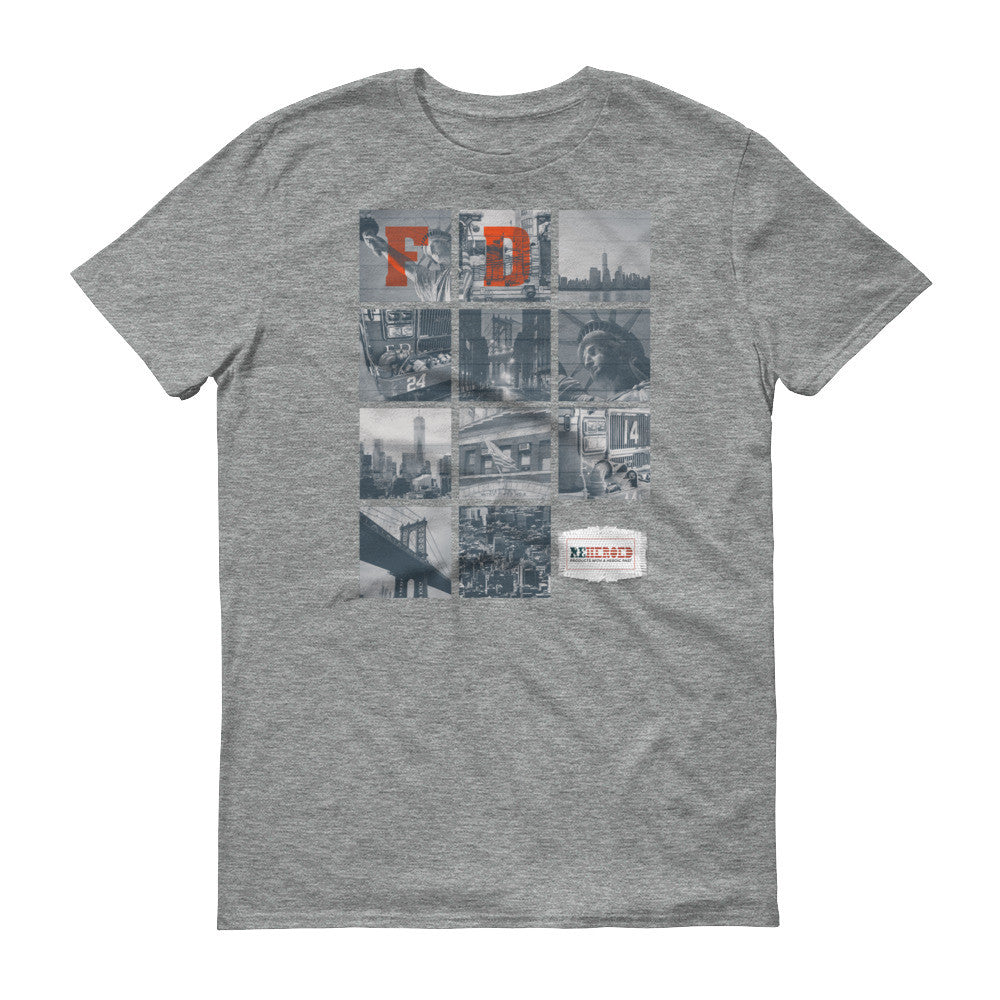 Firefighter Graphic Tee, NYC Firefighter