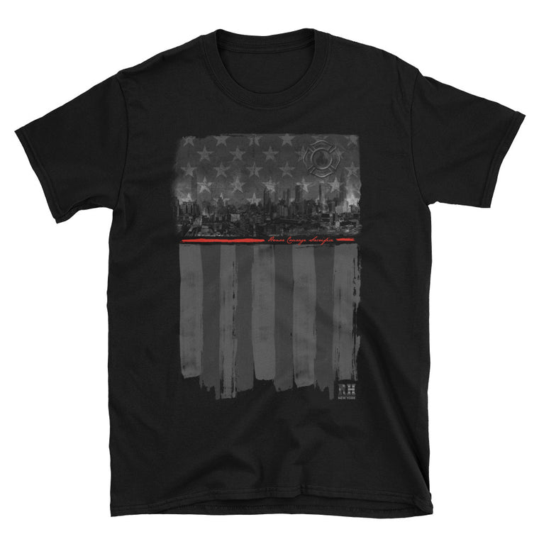 Reheroed Thin Red Line Short Sleeve Tee