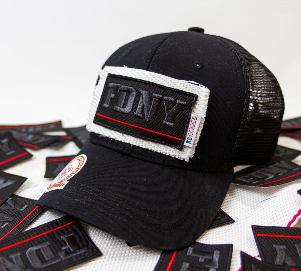 FDNY Thin Red Line Trucker Hat | Reheroed