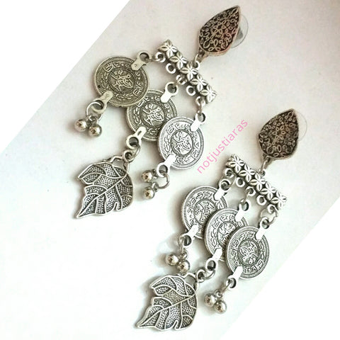 Bohemian Leaf Earrings