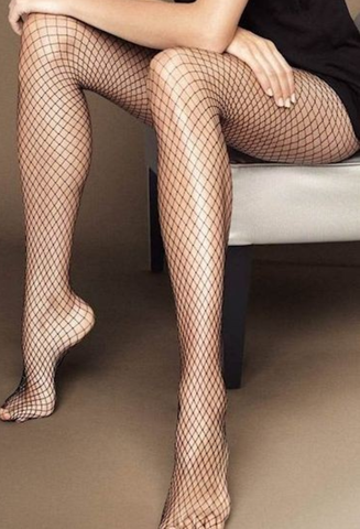 Fishnet leggings