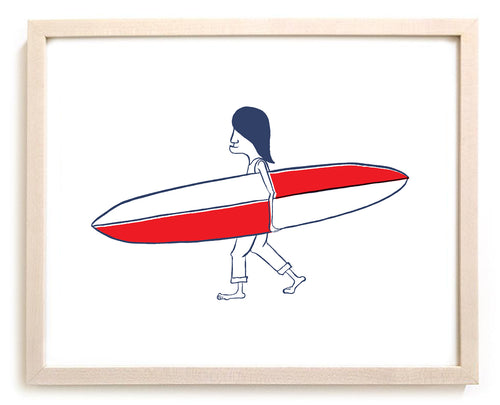 "Limited Edition Surfing Art ""Aces"""