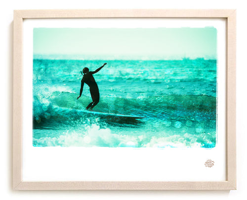 "Surf Photo Print ""Afternoon Delight"" - Borrowed Light Series"