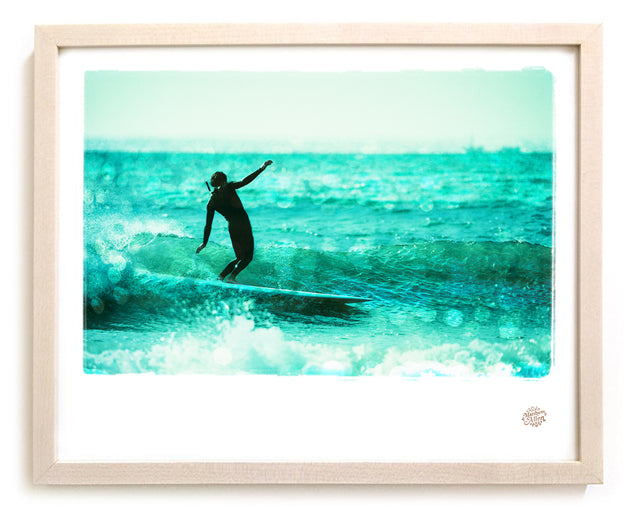 "Limited Edition Surf Photo Print ""Afternoon Delight"" - Borrowed Light Series"