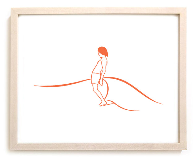 "Limited Edition Surfing Art ""Alex"""