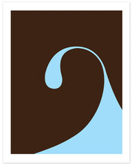 "Limited Edition Surfing Art Print ""Arco Wave"""