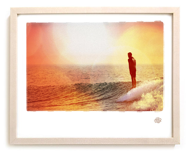 "Limited Edition Surf Photo Print ""Attention"" - Borrowed Light Series"