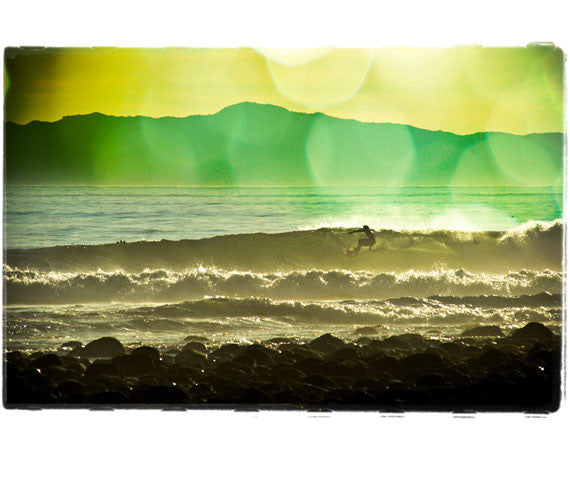 "Limited Edition Surf Photo Print ""Channel"" - Borrowed Light Series"