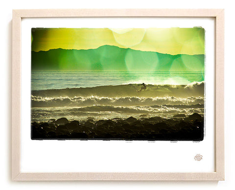 "Surf Photo Print ""Channel"" - Borrowed Light Series"