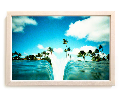 "Limited Edition Beach Art Print ""Chasm"" Surreal Surf Series"