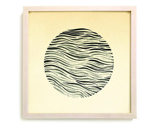 "Limited Edition Contemporary Art Print ""Circle Swell"""