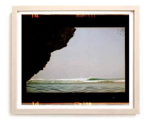 "Surfing Art Print ""Cove"" - Mixed Media"