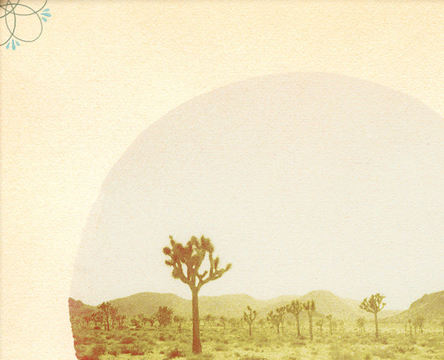 "Limited Edition Contemporary Art Print ""The Desert Shall Rejoice"" - Mixed Media"