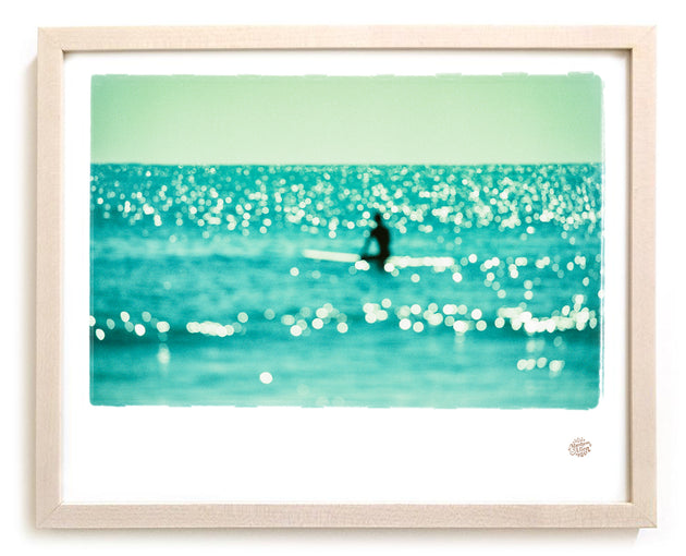 "Limited Edition Surf Photo Print ""Diamonds"""