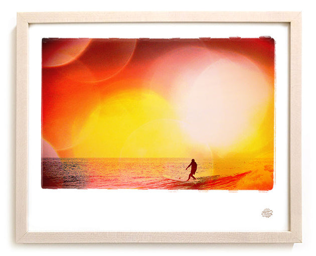 "Surf Photo Print ""Drop Knee"" - Borrowed Light Series"