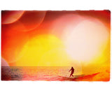 "Limited Edition Surf Photo Print ""Drop Knee"" - Borrowed Light Series"