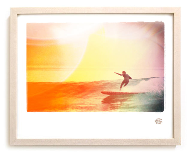 "Limited Edition Surf Photo Print ""Dusk"" - Borrowed Light Series"