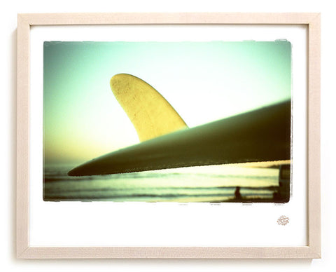 "Surf Photo Print ""Fin-ish"""