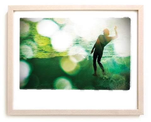 "Surf Photo Print ""Fiver"" - Borrowed Light Series"
