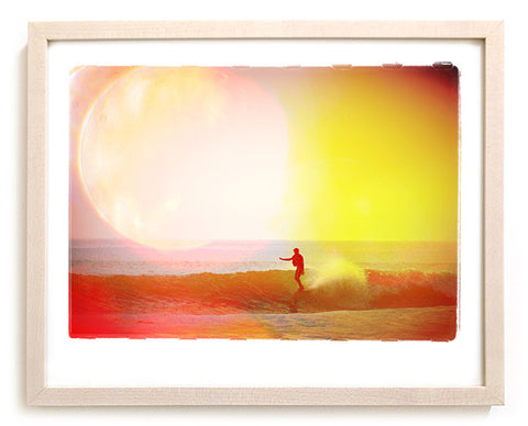 "Limited Edition Surf Photo Print ""Flare"" - Borrowed Light Series"
