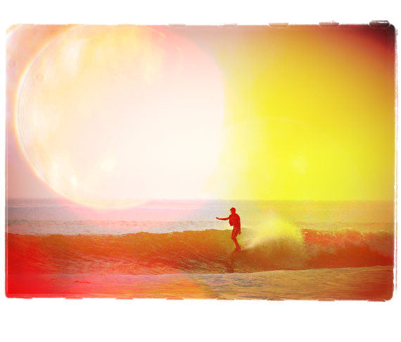 "Surf Photo Print ""Flare"" - Borrowed Light Series"