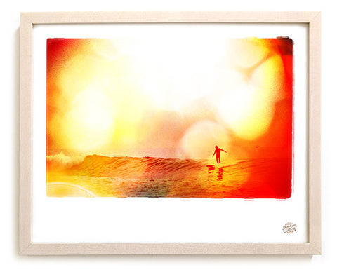 "Limited Edition Surf Photo Print ""Flats"" - Borrowed Light Series"