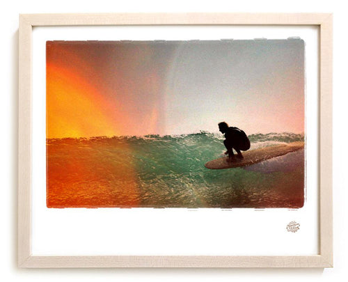 "Limited Edition Surf Photo Print ""High Line"" - Borrowed Light Series"