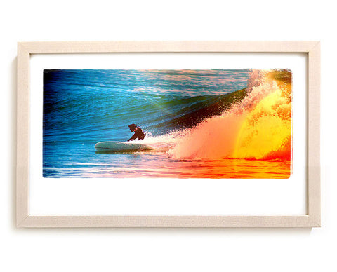 "Surf Photo Print ""Hull"" - Borrowed Light Series"