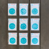 Surf Smile Block printed Coasters - 4 Pack