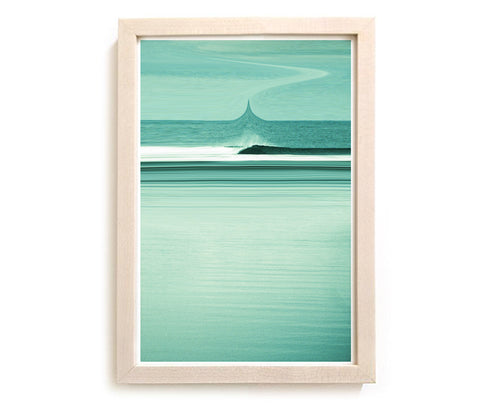 "Limited Edition Beach Art Print ""Into The Ether"" Surreal Surf Series"